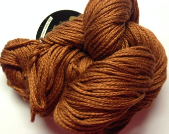 Noro Lilly Solid cotton/silk blend DK weight yarn (39 Brown)