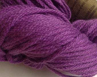 Aslan Trends Pima Clasico Solid cotton worsted weight yarn (054 Dahlia/purple)