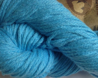 Aslan Trends Pima Clasico Solid cotton worsted weight yarn (115 Blue Atoll/turquoise)