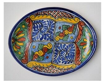 Mexican Majolica Platter
