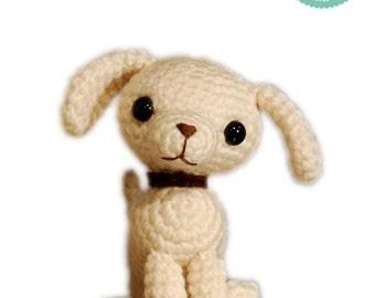Crochet Pattern - Tiny Dog Amigurumi - Cute puppy toy