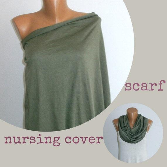 how to make a nursing cover scarf