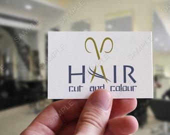 Hair and Beauty Logo, Photography Boutique logo,  business logo and watermark, Barber logo, Beauty Salon logo,  pre-made logo design