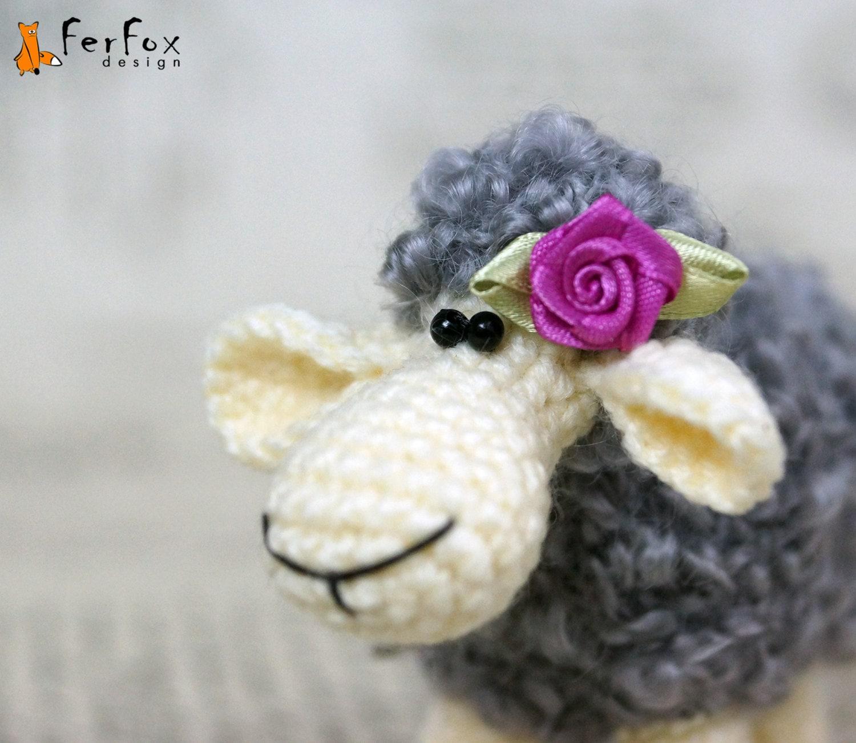 Etsy Amigurumi Sheep : Crochet sheep stuffed sheep amigurumi lamb crochet softie