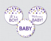 Purple and Gold Baby Show...
