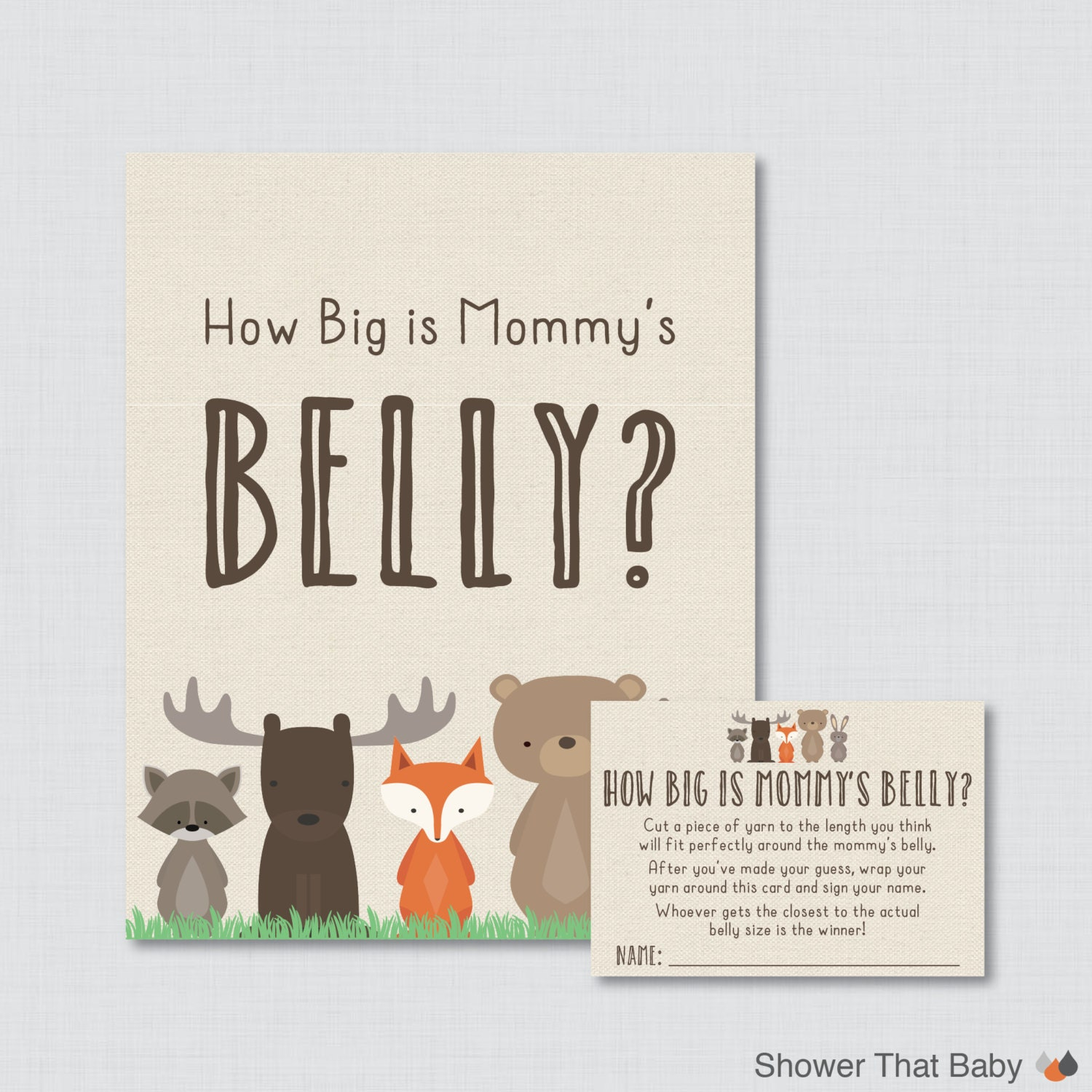 It is a graphic of Bewitching How Big is Mommy's Belly Printable
