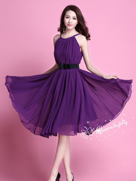 Dark Purple Skirt 38