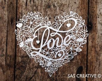 Original papercuts and templates by Samantha A by SASCreative