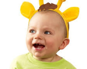 1/Giraffe Baby Headband