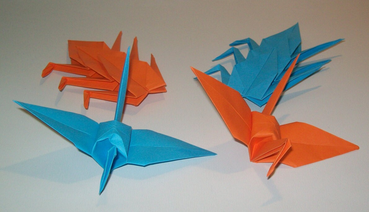 Origami Crane Wedding Crane Set Of 1000 Wedding Decor