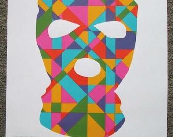 Thievery Corporation Red Rocks 2013 Concert Poster STILES silkscreen original
