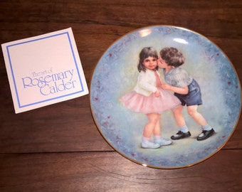 Rosemary Calder First Kiss Plate