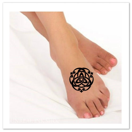 temporary tattoo celtic knot waterproof fake tattoo thin. Black Bedroom Furniture Sets. Home Design Ideas