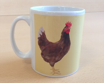 Chickens Ceramic Mug