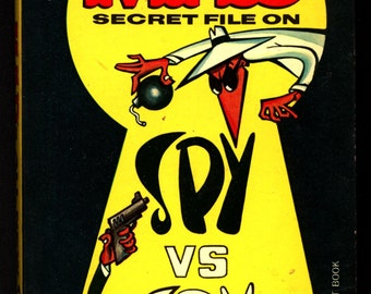MAD Magazine paperback Antonio Prohias All New Secret File on Spy Vs. Spy