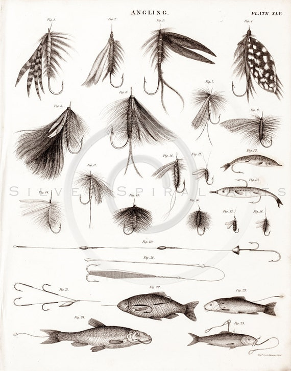 Vintage Fly Fishing Images