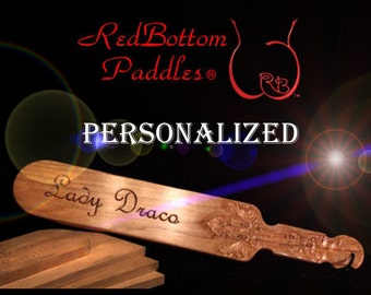 Classic Stinger, Oak paddle carved with your name and/or phrase. INCLUDED: Leather look pouch, 0ffering class & protection..