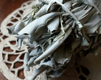 White Sage Wand, Smudging, American Indian Rituals, Smudging Wand, Smudging Stick, Pagan, Witch, Wicca, Smoke Clearing, Rituals