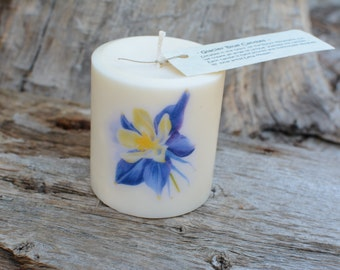 Columbine Candle .The perfect gift for any occasion!