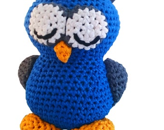 "Eddy ""The sleepy Owl""l Pattern for RibbonXL"