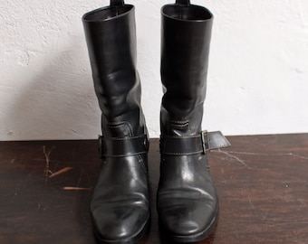 BOOTS TOD completo leather black - T.39