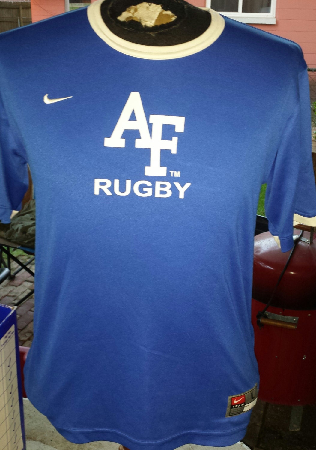 us air force academy rugby jersey by nike size large usafa