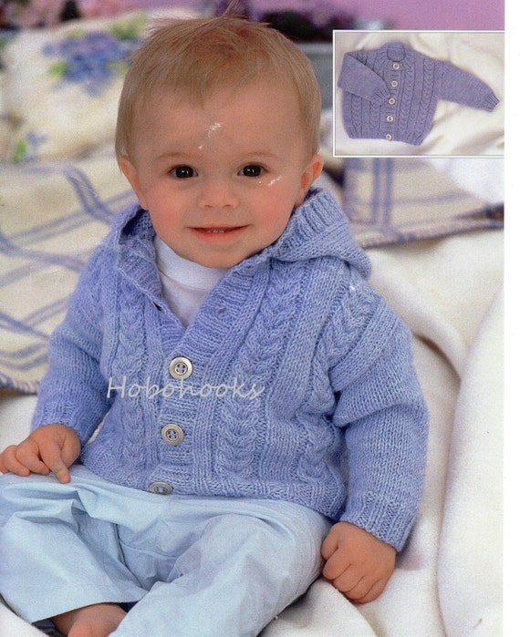 Baby Knitting Pattern Childs Knitting Pattern Baby Cardigans