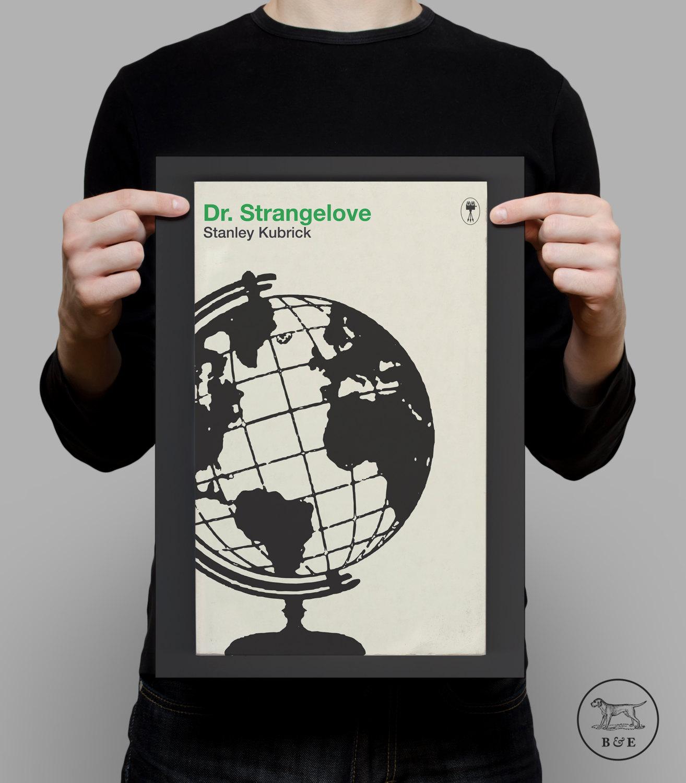 STANLEY KUBRICK Poster Dr. STRANGELOVE Poster Kubrick Print