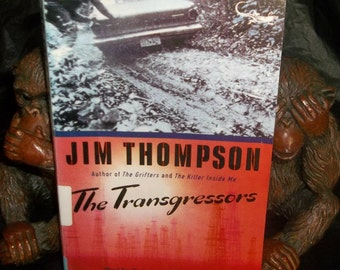 JIM THOMPSON The Transgressors Vintage 60's Pulp Noir Crime Fiction Stephen King Related Black Lizard edition