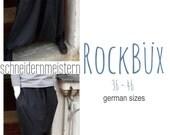 Rockbüx / experimental pants - german sizes 36 - 46