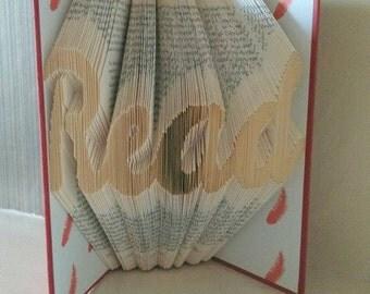 Book Folding Pattern Read