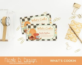 What's Cookin - Custom Business Cards