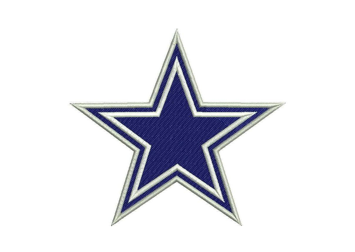 2 Types Of Dallas Cowboys Embroidery Design By Appliquecloud