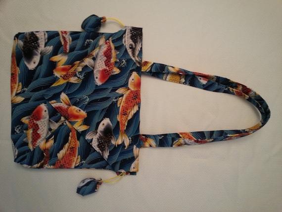 Items similar to koi fish purse on etsy for Koi fish purse