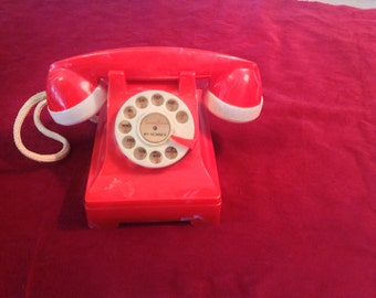 1950's Vintage Amerline Toy Phone and Bank