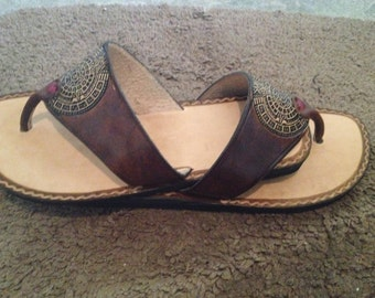 Authentic Mexican Leather Sandals (Huaraches)