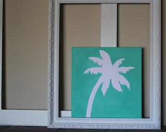 12x12 Palm Tree