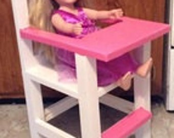 American Girl Doll High Chair