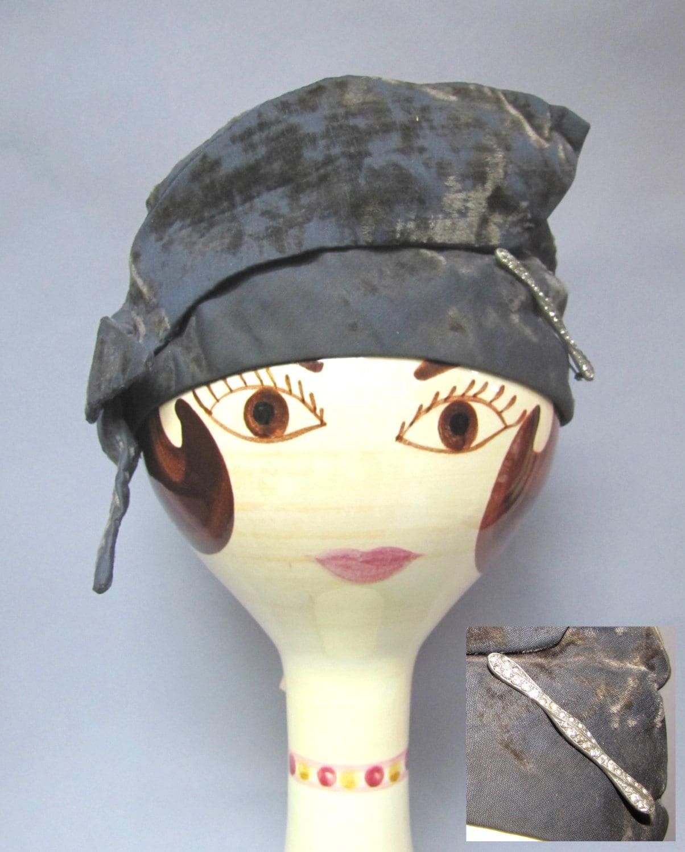 Deco 1920's Vintage CLOCHE Hat from BOARDWALK Empire