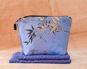BLUE BAMBOO Makeup Bags SET of 3