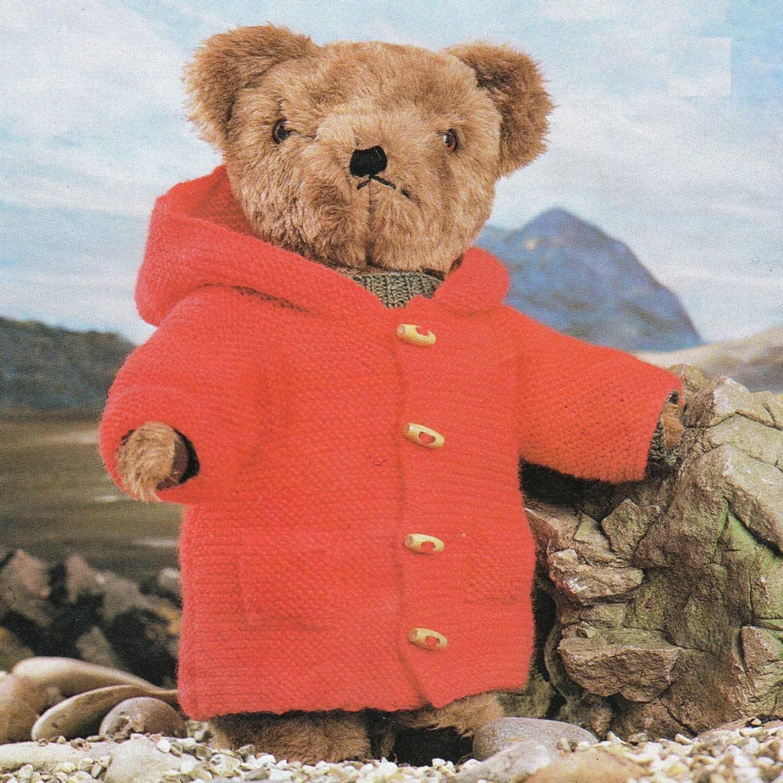 Post Free Knitting Pattern / Teddy Bear Clothes Knitting