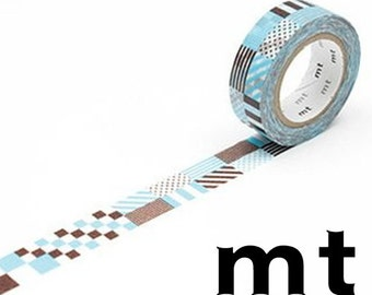 Mix Blue, DECO, Japanese mt Washi Paper Masking Tape, Adhesive Tape, Gift Wrapping, Decorative Journal Washi, Planner Deco, Card Decoration