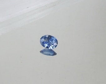 Ceylon Blue Sapphire Oval Shape 6.8 x 5 MM for Engagement Ring September Birthstone