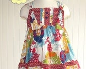 Clara Knot Top Sewing Pattern- INSTANT DOWNLOAD PDF Pattern and Tutorial- Childrens Sewing Patterns- Sizes 6-12m through 12