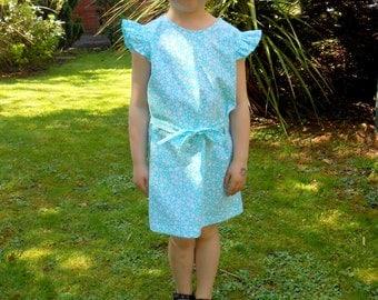 Kids Girls Toddler Dress .....Handmade in Ireland