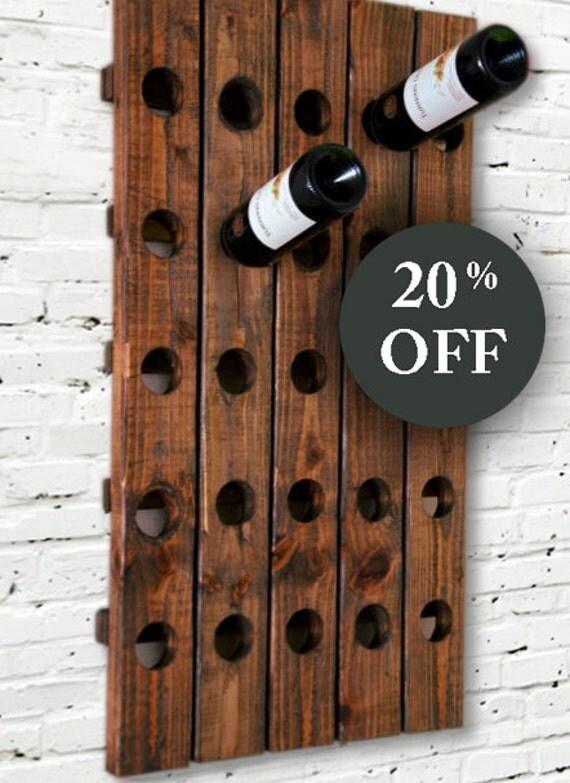 Wine Rack Antique Riddling Rack Wood Wall Hanging Sale