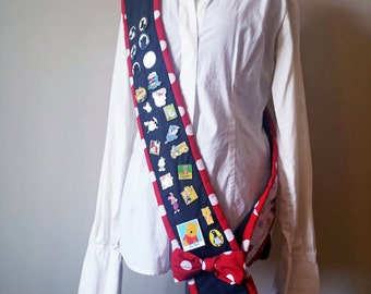 Disney Pin Trading Sash / Lanyard ~ Minnie Mouse Themed