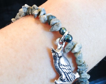 Great Horned Owl Bracelet