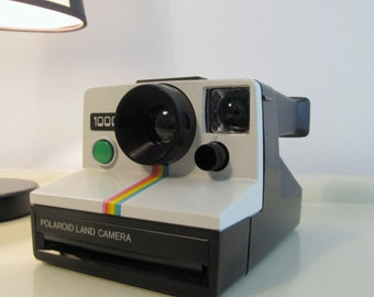 Polaroid Camera, Vintage Camera, Camera Polaroid Land Camera 1000, Camera SX70 Iconic Camera 70s