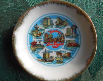 Fabulous Las Vegas Miniplate Souvenir Small Plate